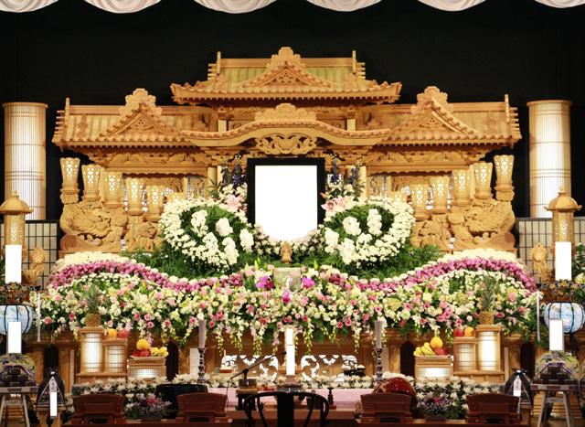 祭壇例(生花アレンジ2)